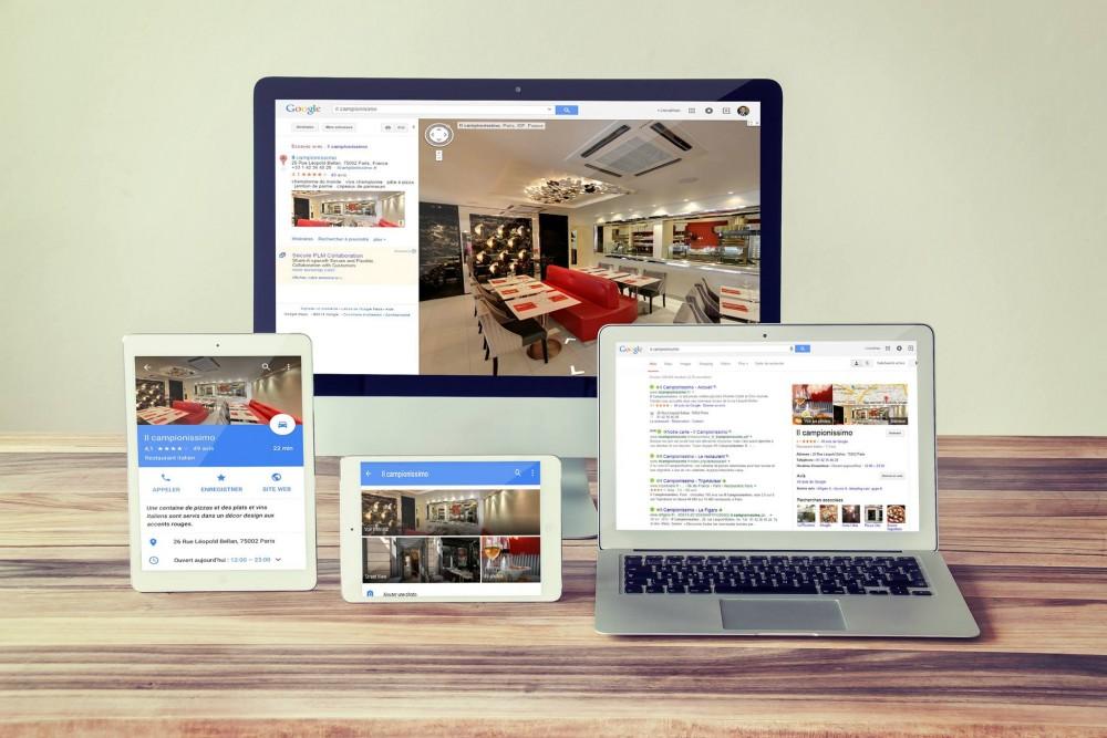 La visite virtuelle streetview pour les commerçants