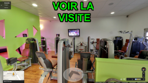 Visite Virtuelle Street view Salle de Sport