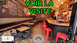 Visite Virtuelle par un photographe agréé Google de bars