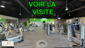 Visite Virtuelle Immersive Salle de Sport