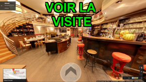 Visite Virtuelle Google Restaurant Paris