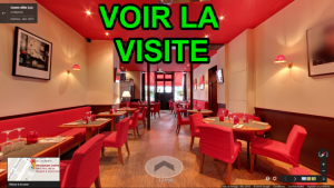 Visite Virtuelle Immersive Restaurant