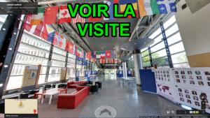 Visite virtuelle interactive école